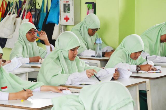 Pelaksanaan Penilaian Akhir Semester 1 (PAS) SD Muhammadiyah 4 Terpadu Samarinda